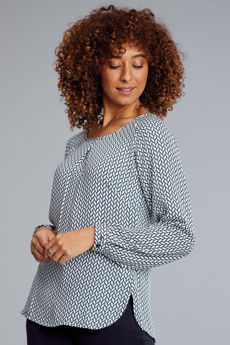 Catriona Long Sleeve Blouse