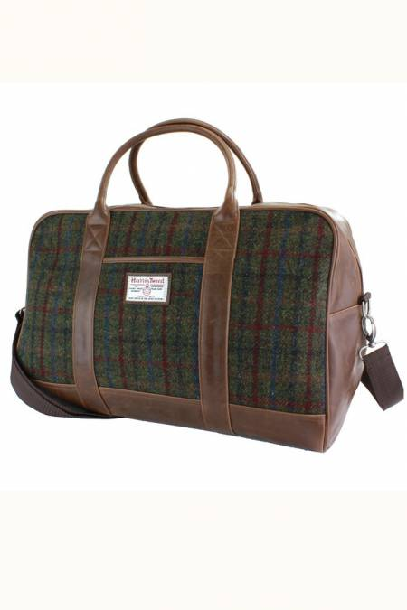 Harris Tweed Overnight / Weekend bag