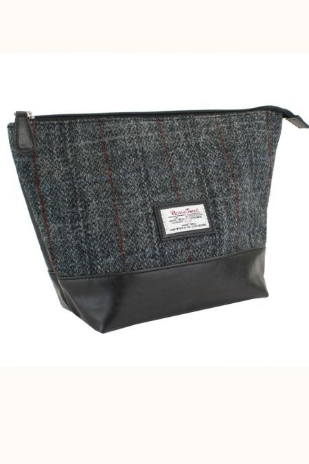 Harris Tweed Wash/Cosmetic/Make-up  Bag