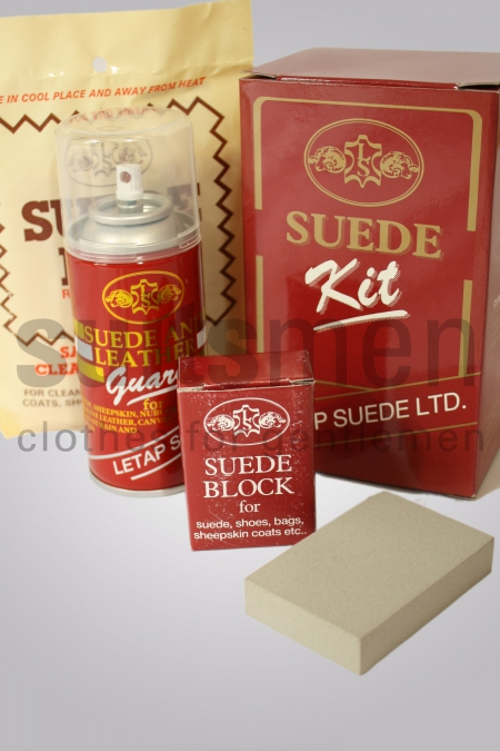 Leather suede guard kit