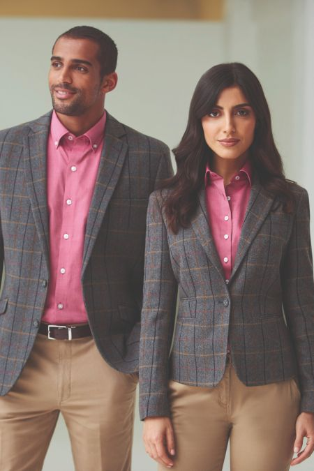 Montreal Tweed 1 Button Jacket