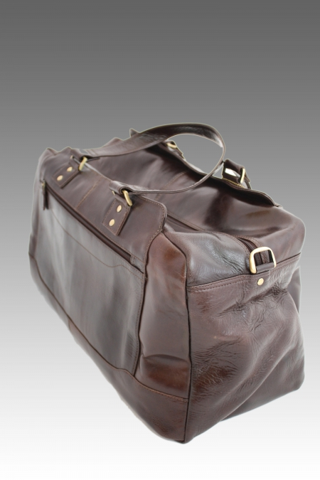 Nappa Leather  Overnight Bag