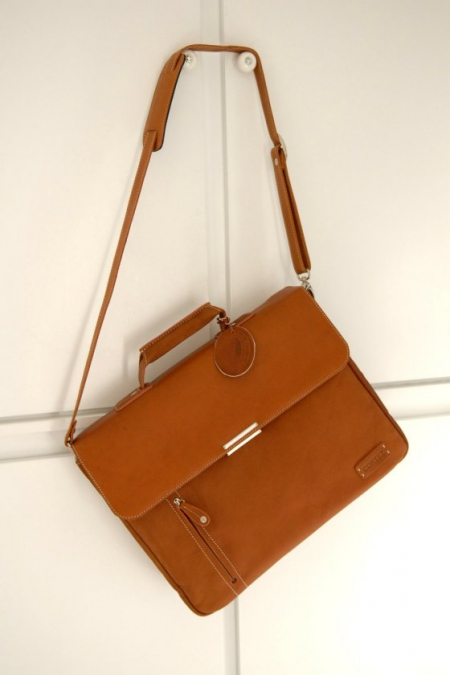 Stylish Leather Briefcase.