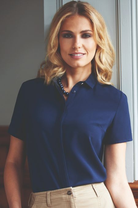 Venezia Short Sleeve Blouse