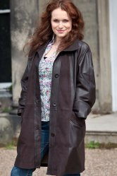 Ladies Nappa/Nubuck Trench Coat