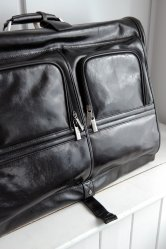 Leather Suit Bag