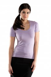 Vortex Designs Grace Short Sleeve Scoop Neck
